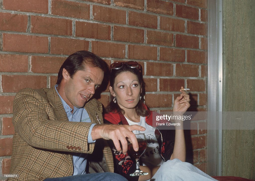Nicholson With Huston : News Photo