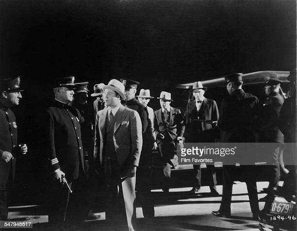 American actor Jack Oakie as 'Cyclone' Case in a publicity still for A Edward Sutherland's 1931 comedy 'The Gang Buster'