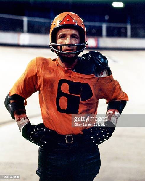 American actor James Caan as Jonathan E in 'Rollerball' directed by Norman Jewison 1975