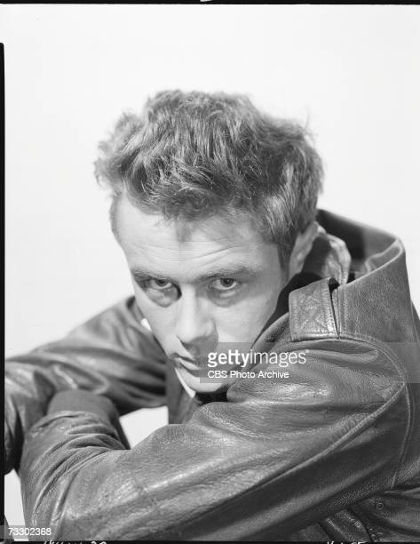 American actor James Dean in the CBS television Schlitz Playhouse of Stars production of 'The Unlighted Road' April 1 1955