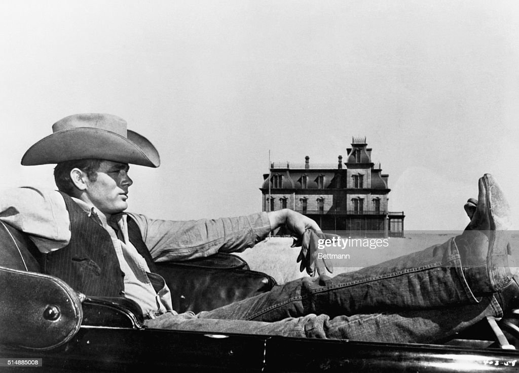 James Dean in Motion Picture Giant : News Photo