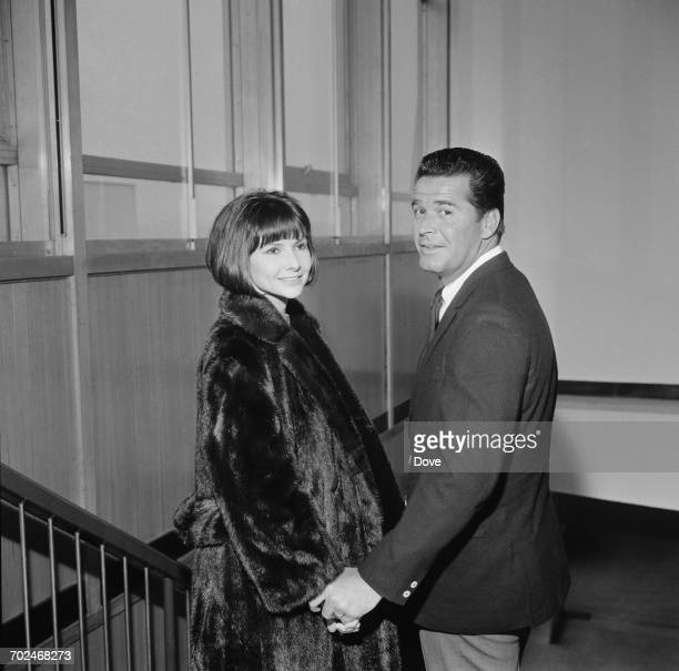 American actor James Garner and his wife Lois, UK, 1st March 1964.