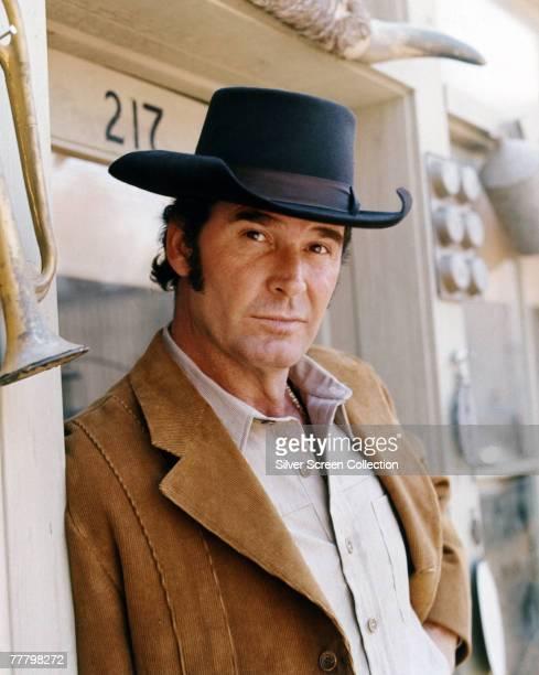 American actor James Garner, circa 1980.