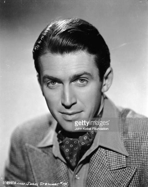 American actor James Stewart , the likeable star of 'It's a Wonderful Life', and 'Harvey'.