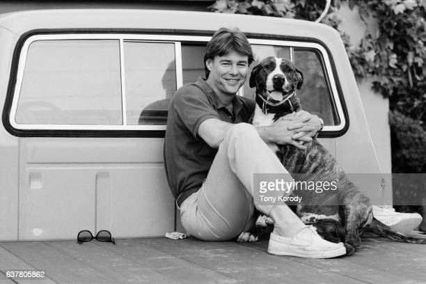 American Actor Jan Michael Vincent at Home