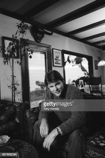 American Actor JanMichael Vincent at Home