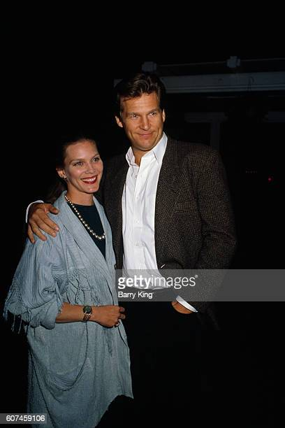 American actor Jeff Bridges and his wife Susan