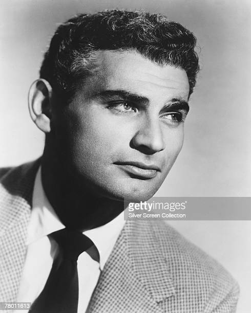 American actor Jeff Chandler , circa 1955.