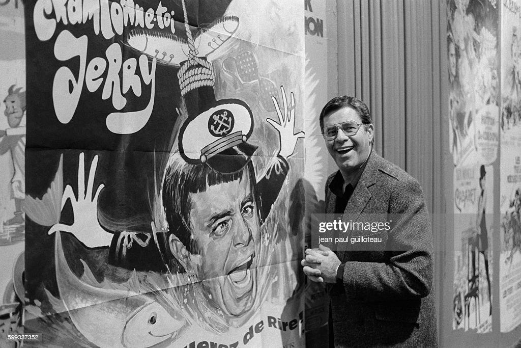 American Actor Jerry Lewis : Foto di attualità