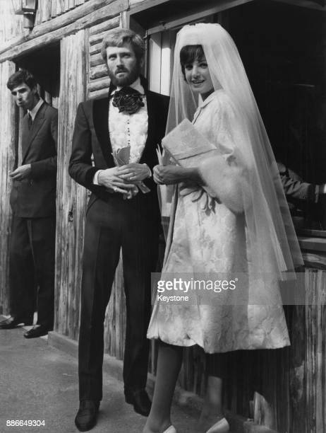 American actor John Drew Barrymore marries Italian actress Gabriella Palazzoli in Italy 11th October 1960