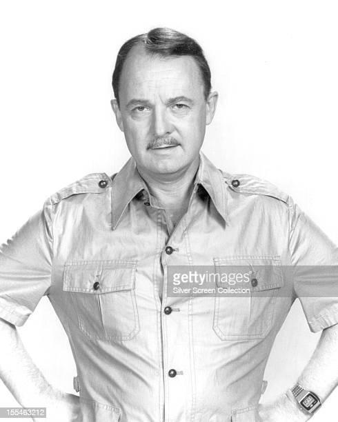 American actor John Hillerman as Higgins in the US TV series 'Magnum PI' circa 1984