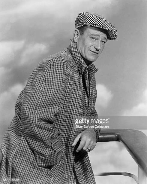 American actor John Wayne as Sean Thornton in a publicity still for the film 'The Quiet Man' 1952