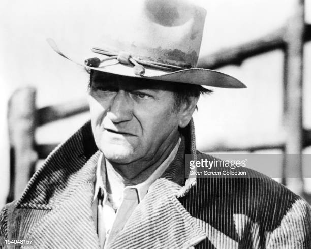 American actor John Wayne as Wil Andersen in 'The Cowboys' directed by Mark Rydell 1972