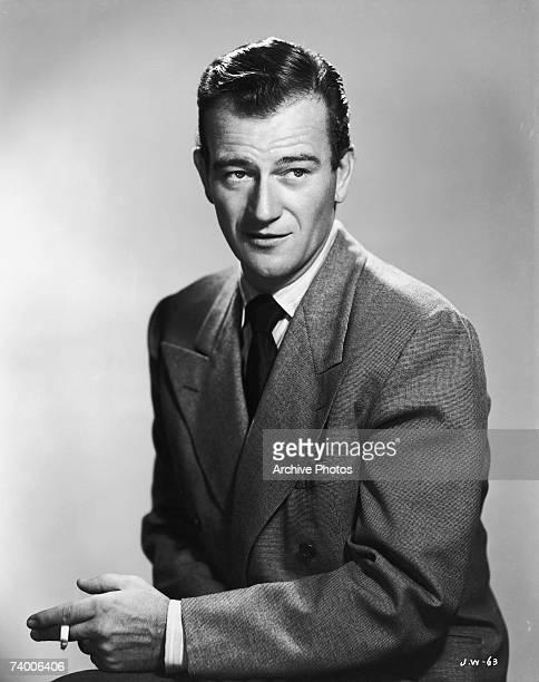 American actor John Wayne circa 1950