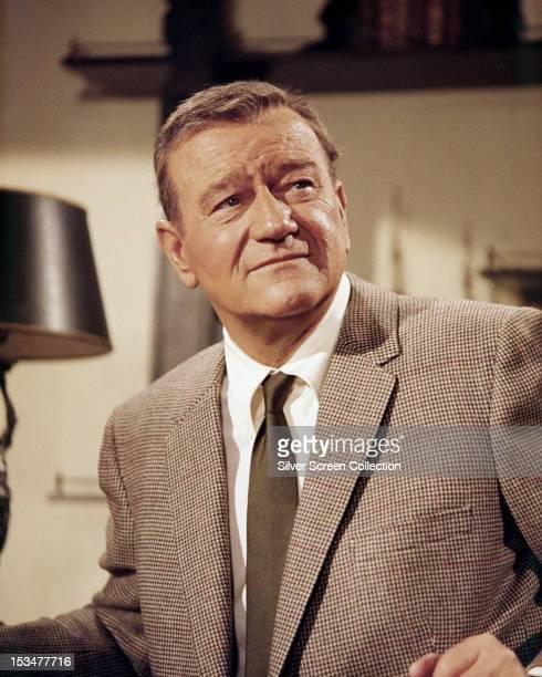 American actor John Wayne circa 1970