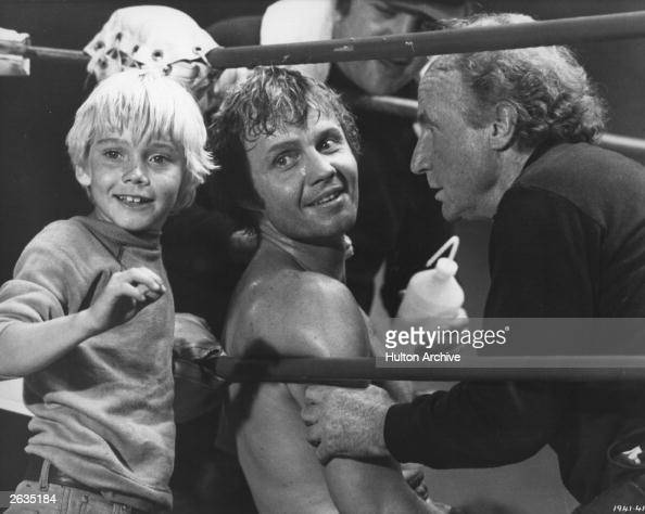 boxer washed-out and  American plays actor Jon Voight a