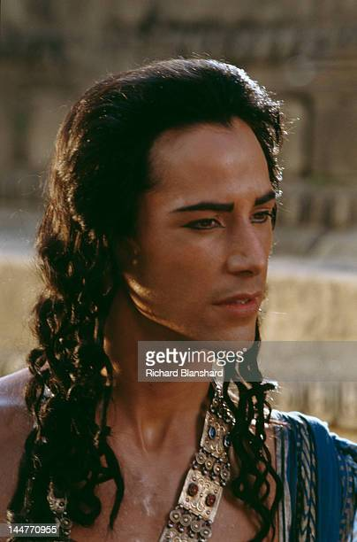American actor Keanu Reeves stars as Siddhartha Gautama who later became known as the Buddha in the film 'Little Buddha' circa 1992