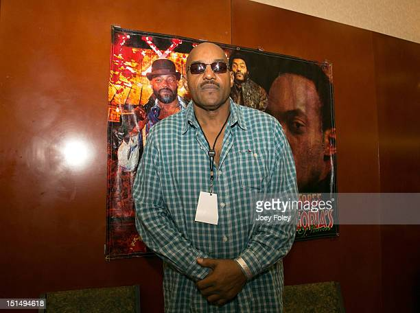 American actor Ken Foree attends Horrorhound Weekend Day 1 at Marriott Indianapolis on September 7 2012 in Indianapolis Indiana