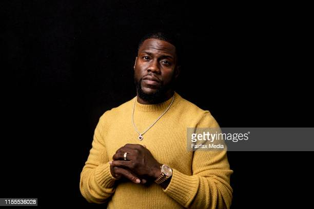 American actor, Kevin Hart, is in Sydney with his co-star, Tiffany Haddish, for the premiere of their new film, The Secret Life of Pets 2, at the...