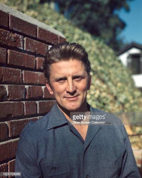American actor Kirk Douglas circa 1955