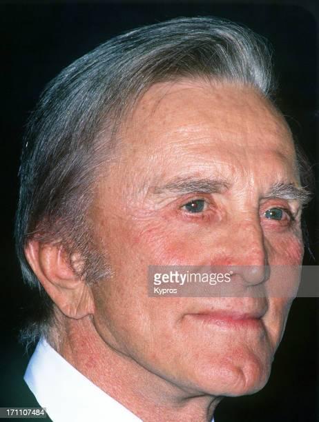 American actor Kirk Douglas circa 1995