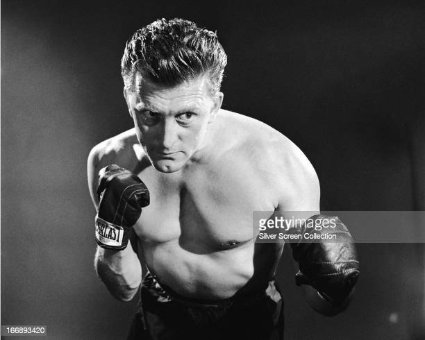 American actor Kirk Douglas in a promotional portrait for 'Champion', directed by Mark Robson, 1949.