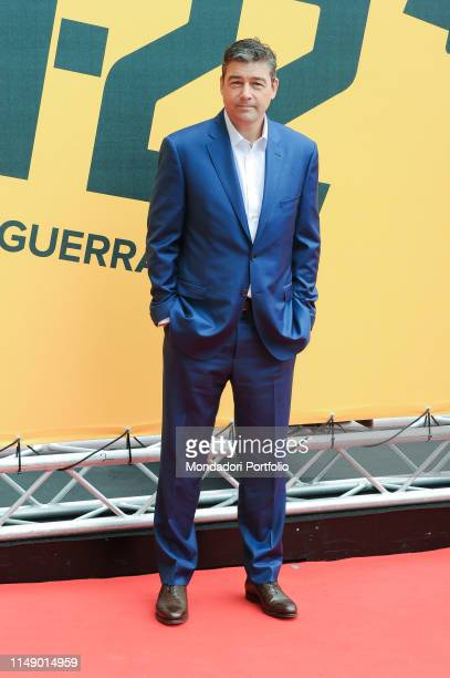 American actor Kyle Martin Chandler attends the Sky TV series Catch-22 photocall. Rome , May 13th, 2019