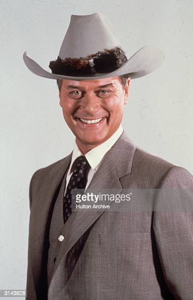 American actor Larry Hagman who found worldwide fame in his role as JR in the American soap opera 'Dallas'