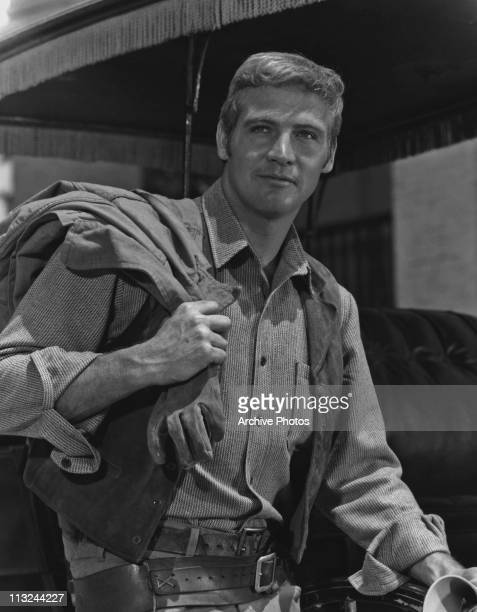 American actor Lee Majors in the television show 'The Big Valley' in 1966