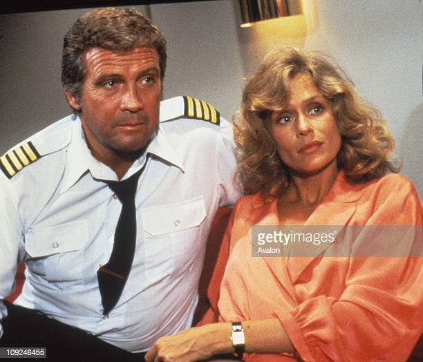 American Actor Lee Majors With LAUREN HUTTON American Actress Both stars in the new film 'Starlight One'.
