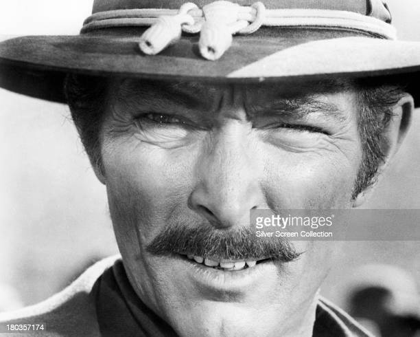 American actor Lee Van Cleef as Angel Eyes in 'The Good The Bad And The Ugly' directed by Sergio Leone 1966