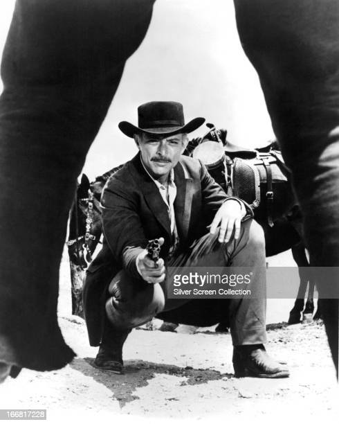 American actor Lee Van Cleef as Frank Talby in 'Day of Anger' , directed by Tonino Valerii, 1967.