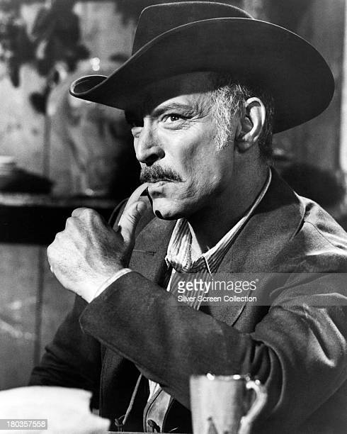 American actor Lee Van Cleef as Frank Talby in 'Day of Anger' directed by Tonino Valerii 1967