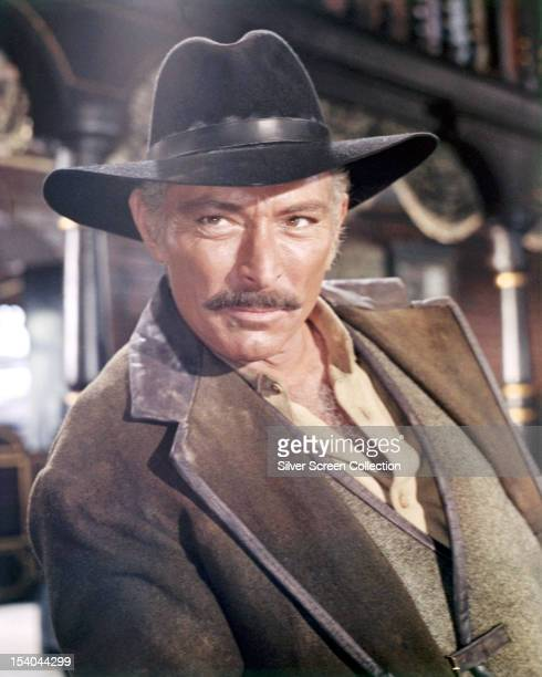 American actor Lee Van Cleef as Ryan, in 'Death Rides A Horse', directed by Giulio Petroni, 1967.