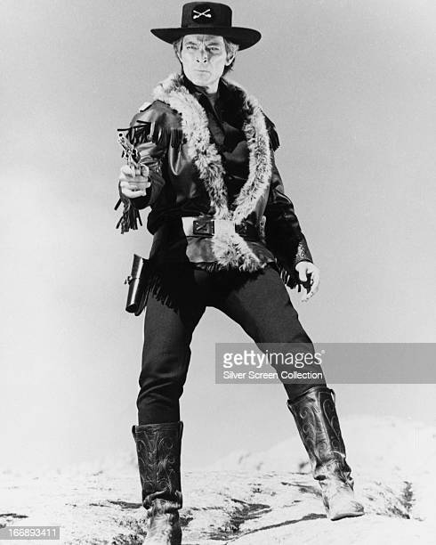 American actor Lee Van Cleef in the title role of 'Captain Apache' directed by Alexander Singer 1971