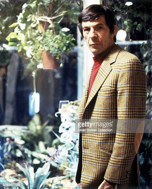 American actor Leonard Nimoy in a promotional portrait for 'Invasion Of The Body Snatchers', directed by Philip Kaufman, 1978.