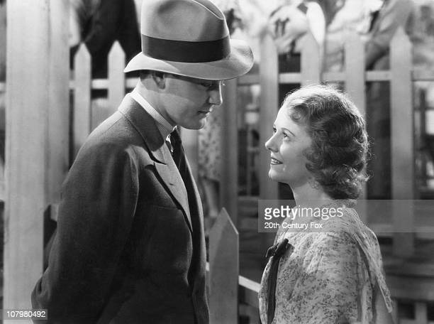 American actor Lew Ayres stars with actress Janet Gaynor in the film 'State Fair' 1933