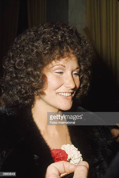 American actor Linda Lovelace attends the premiere of 'Last Tango In Paris' March 1973