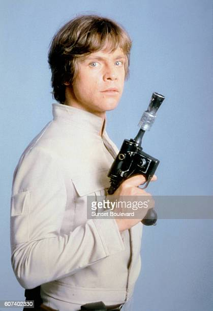 American actor Mark Hamill on the set of Star Wars: Episode V - The Empire Strikes Back directed by Irvin Kershner.