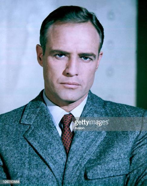 American Actor Marlon Brando, .