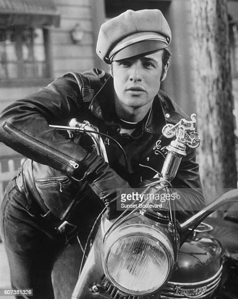 American actor Marlon Brando