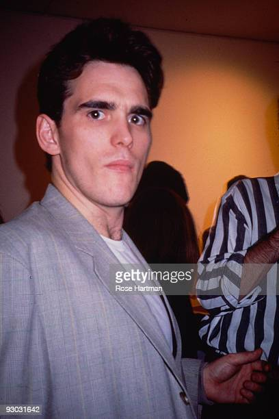 American actor Matt Dillon attends an unspecified event New York New York early 1990s