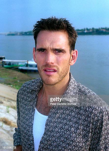 American actor Matt Dillon filming his new movie 'Beneath The Banyon Tree' in February 2001 in Cambodia