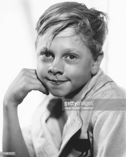 American actor Mickey Rooney as a child circa 1930