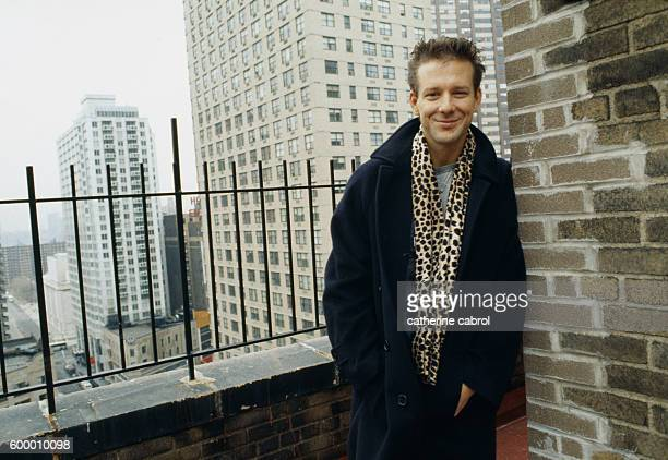 American actor Mickey Rourke in New York.