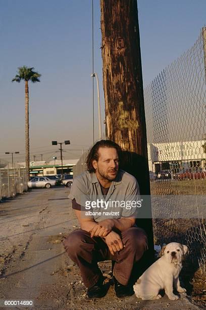 American actor Mickey Rourke