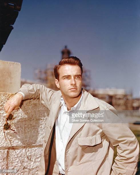 American actor Montgomery Clift circa 1950
