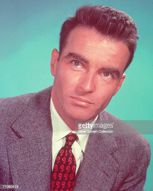 American actor Montgomery Clift circa 1955