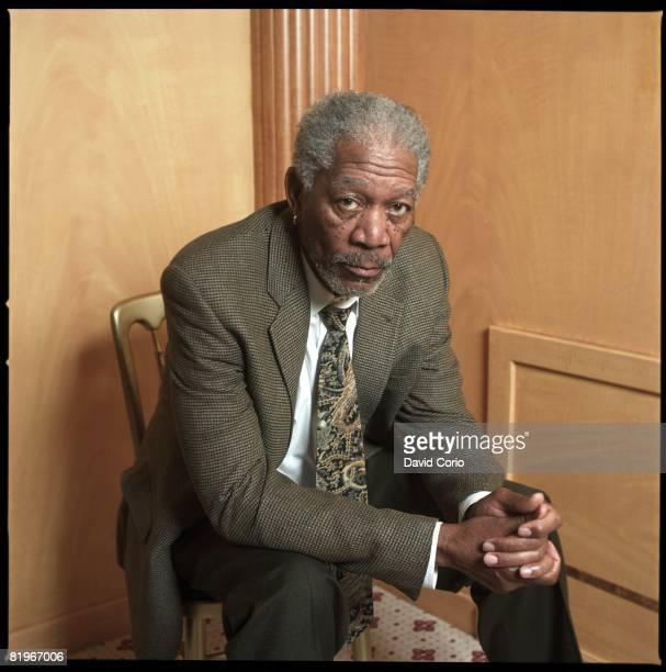 American actor Morgan Freeman sits for a portrait on January 24 2008 at Claridges Hotel in London England