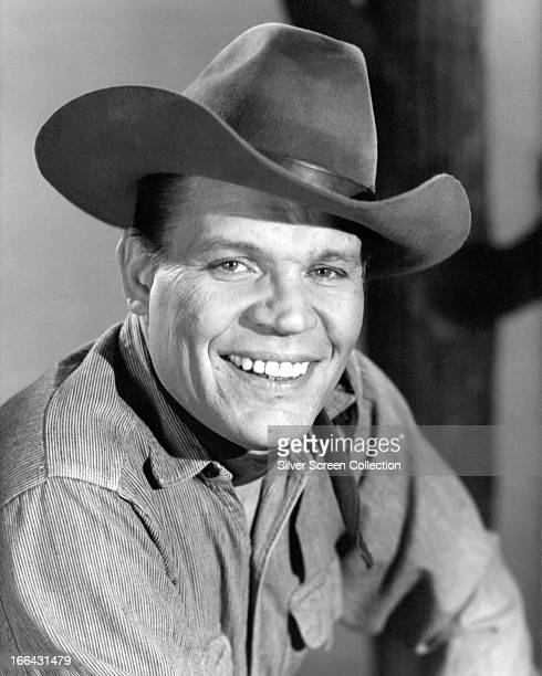 American actor Neville Brand as Reese Bennett in the TV western series 'Laredo' circa 1966